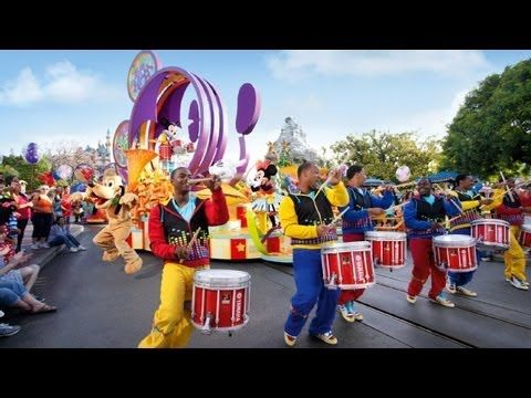 """The Complete 2015 """"Mickey's Soundsational Parade"""" at Disneyland - YouTube  ♥  Happy Happiness Quotes Inspiration Gratitude Wisdom Joy Poster Posters Motivation"""