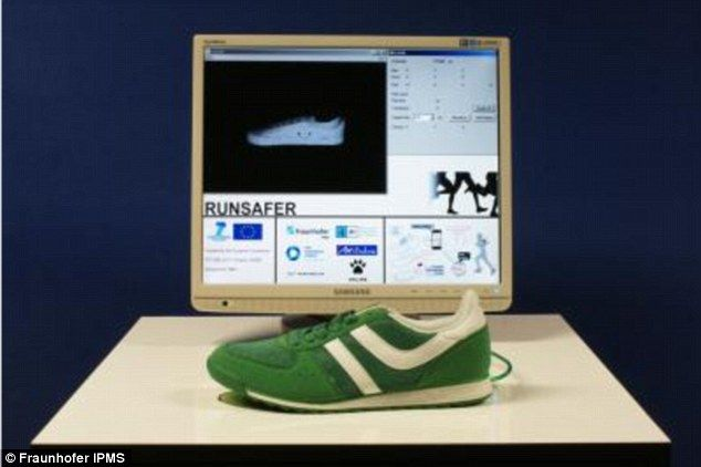 German scientists worked with five partners to develop a hi-tech running shoe with 'Runsafer' sensors in the sole which will measure the biomechanical data of the athlete and evaluated the runner's form with the help of measurements in real time.