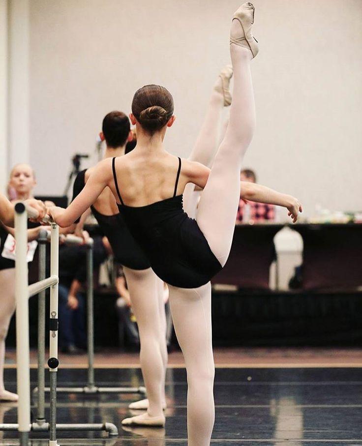 Higher. Harder. Faster. Stronger. Ballerina, great feet!