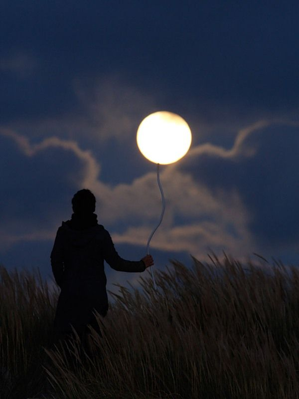 Balloon: Photos, Picture, Themoon, Moon, Art, Photography, The Moon