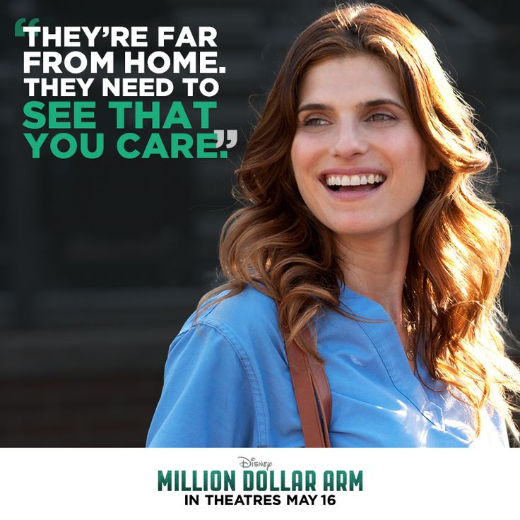 Who inspires you? Don't miss Lake Bell as Brenda in Million Dollar Arm, in theatres May 16!