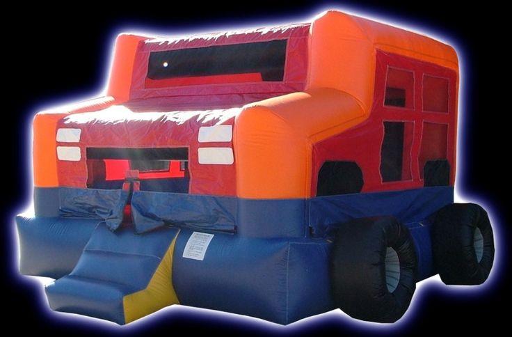 $150 Monster Truck, Houston Party Rentals, Moonwalk Rental, Party Rental Equipment