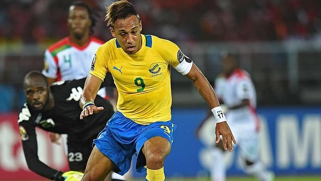 Aubameyang gets Gabon off to flying start