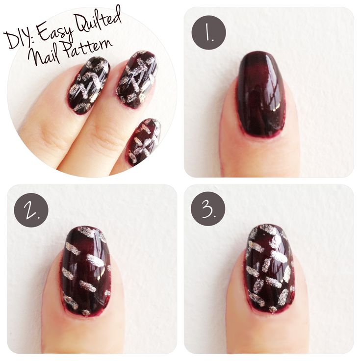 25+ Best Ideas About Quilted Nails On Pinterest