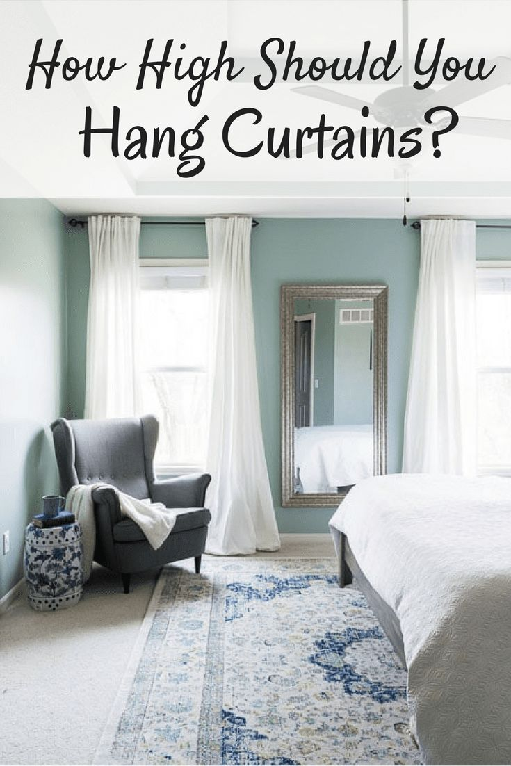 25 Best Ideas About How To Hang Curtains On Pinterest