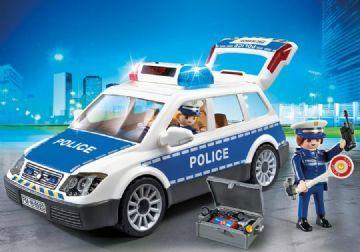 Playmobil Politi bil med lys og lyd