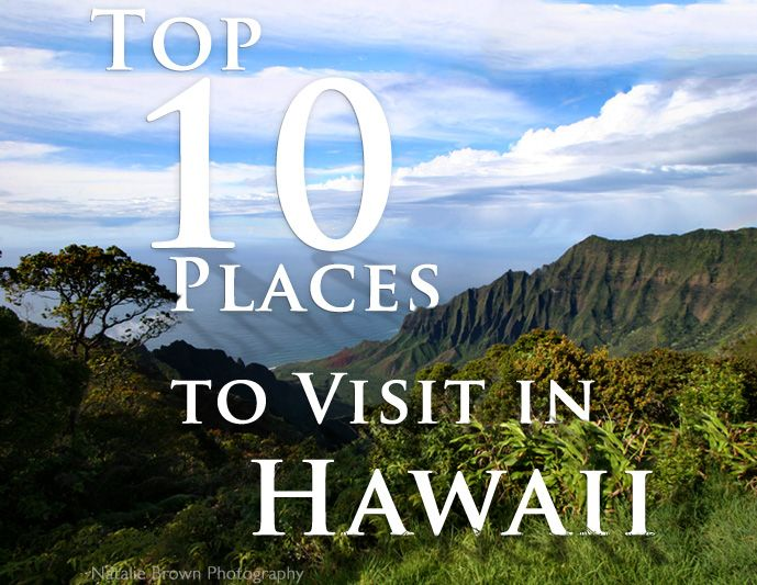 Our picks for the best places to visit in Hawaii. #Maui
