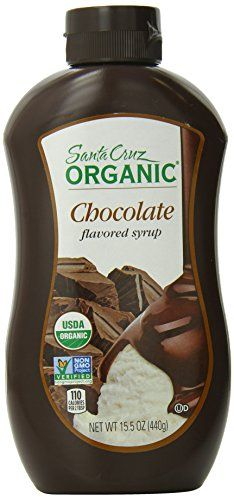 Santa Cruz Organic Syrup Chocolate 155 Ounce Bottle -- Want additional info? Click on the image.