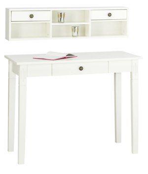 Työpöytä AULUM yläosalla valkoinen | JYSK