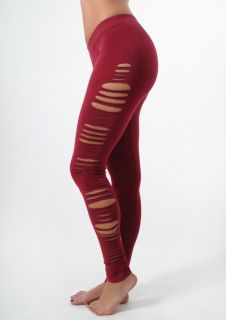 Show off a little skin in these super fun, raw edge cut leggings. Perfect to wear during practice or out on the town.   COMING SOON (in limited quantities)