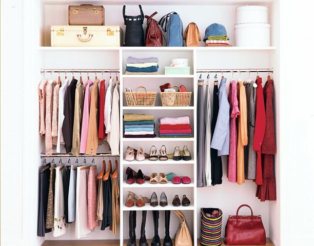 Closet Nirvana? To streamline your space, constantly eliminate clutter: Every three to four months donate unused items to charity.