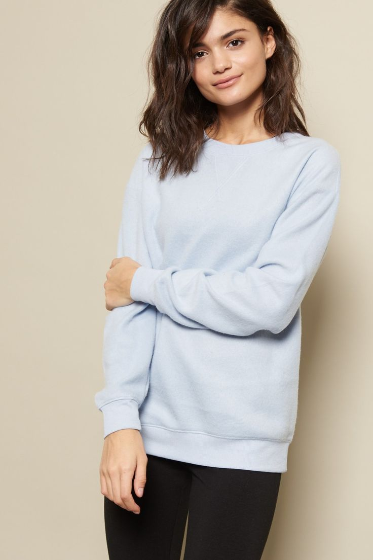 Touch It And Fall In Love The Best Choice For Those Mornings When You Don Crewneck SweatersFall ClothesGarage