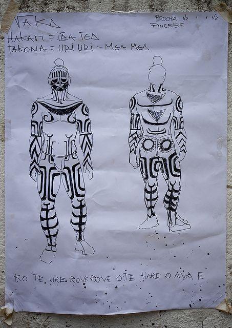 Body Painting, Easter Island, Chile | Flickr: Intercambio de fotos