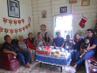Rachma ♥ رَّحْمَ : Natal di Rumah Mertua