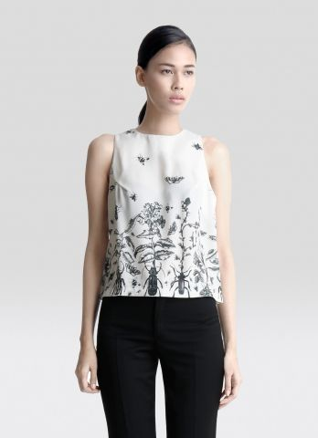 ENSEMBLE Scarab Garden Sleeveless Top