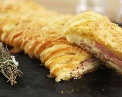 Tresse feuilletée façon montagnarde (facile, rapide) - Une recette CuisineAZ