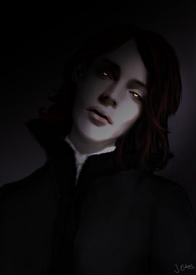 Jaco van den hoven vampire art