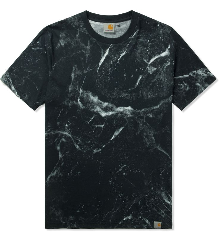 Carhartt WORK IN PROGRESS Black S/S Marble T-Shirt | HYPEBEAST Store. Shop Online for Men's Fashion, Streetwear, Sneakers, Accessories