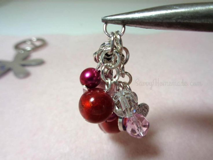 How to make amazing keychains with beads and charms how