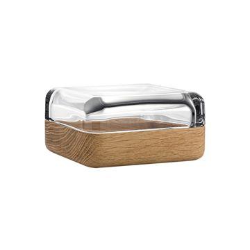 iittala Vitriini Box-108x108 mm Clear/Oak