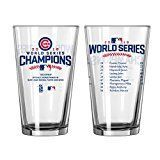 Chicago Cubs 2016 World Series Champions Official 16 oz. Roster Pint Glas