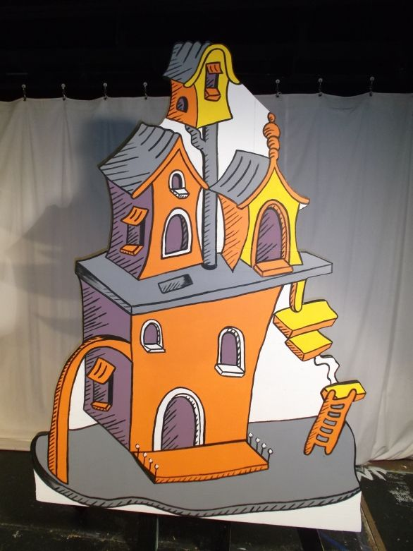 Suessical Musical Costums Seussical Jr Set Pieces