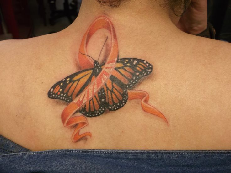 multiple sclerosis tattoos | Multiple Sclerosis Awareness Tattoo done by Vera at ... | tattoo's