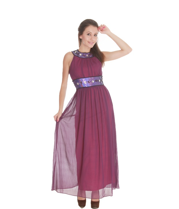 #Snapdealbestproducts Athena Beautiful Purple Beaded Gown, http://www.snapdeal.com/product/athena-beautiful-purple-beaded-gown/415628?storeID=women-apparel-dresses-skirts_fp_415628
