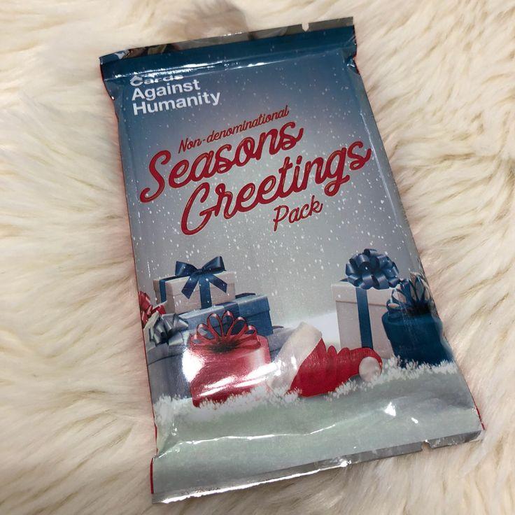 Cards against humanity pack season greet mercari