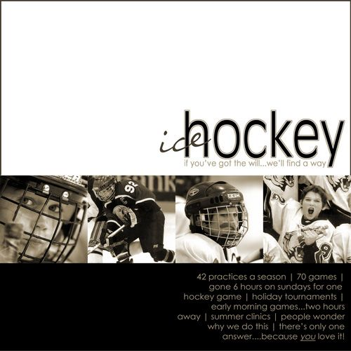 Ice Hockey - Scrapbook.com