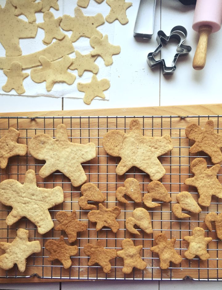 Gluten free and Egg free Gingerbreads!