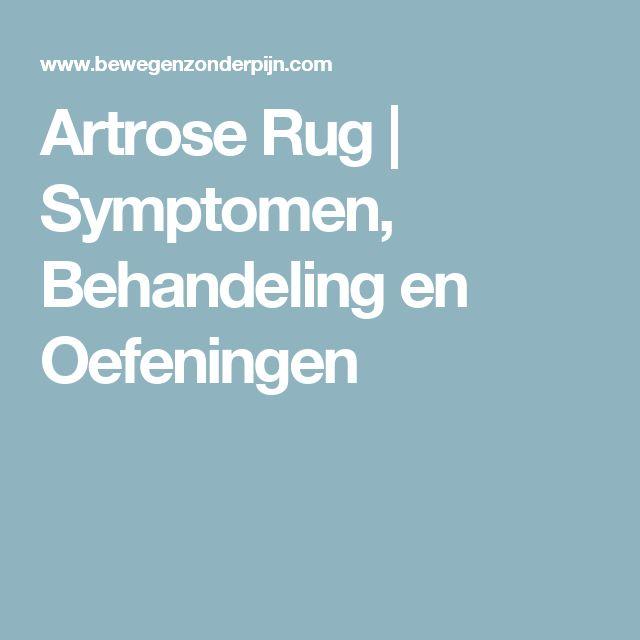 Artrose Rug | Symptomen, Behandeling en Oefeningen