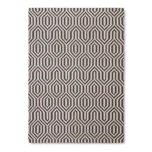 Multicolor Stripe Woven Area Rug - (5'X7') - Threshold™ : Target