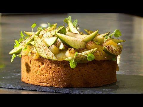 Recette : tarte aux poires et crème d'amande par Nicolas Bacheyre