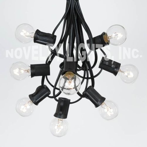 100-Foot-Outdoor-Globe-Patio-String-Lights-Set-of-125-G50-G40-G30-Clear-Bulbs