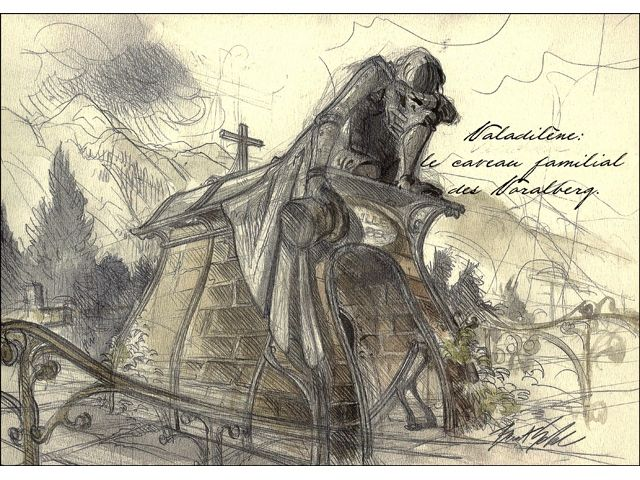 "Microïds - Benoit Sokal's ""Syberia"" Sketches & Concept Art (Valadilene)"