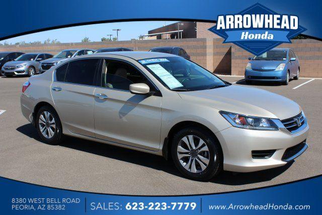 Cars for Sale: Used 2014 Honda Accord LX Sedan for sale in Peoria, AZ 85382: Sedan Details - 455711883 - Autotrader
