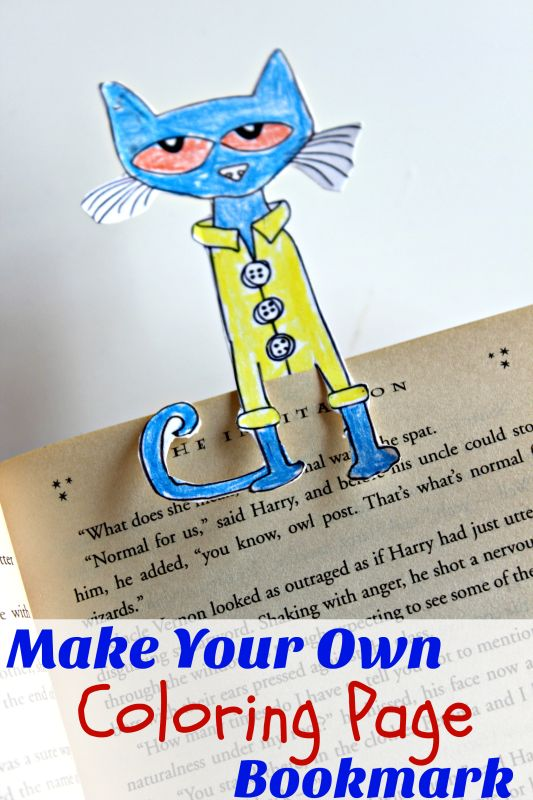 Your children will love creating their own bookmark! Learn how they can make them using the easy tutorial. It's a fun way to help your kids keep track of their reading.
