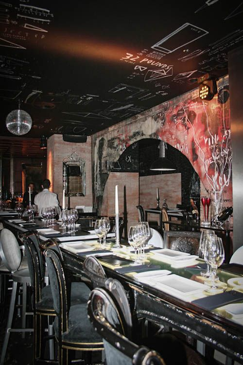 Ramses Restaurant, Madrid, Spain designed by Philippe Starck