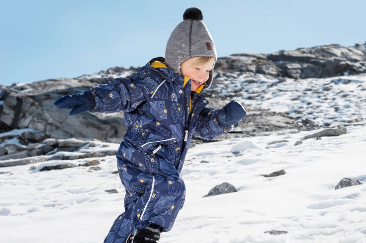 Have fun outdoors in Reima's winter clothes!