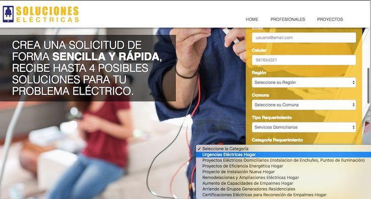 soluciones-1 Crean web que mejora tiempos y entrega precios de servicios eléctricos