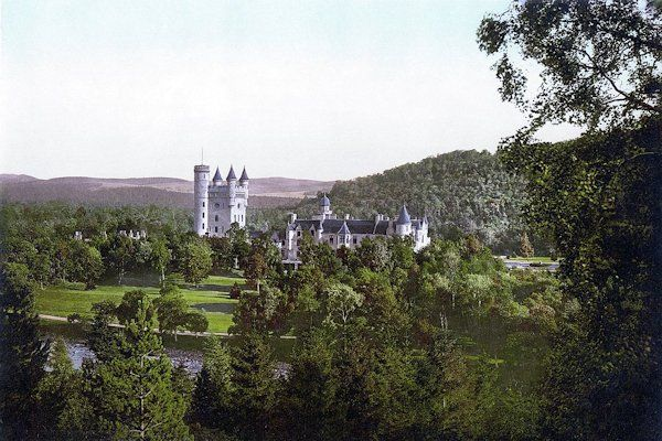 Balmoral Castle and Estate,Scotland.