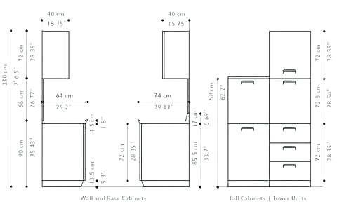 Google Image Result For Https I Pinimg Com 736x 2b 94 57 2b94573ee9e7b0fc1b0f56de835 Kitchen Cabinet Sizes Kitchen Cabinets Height Kitchen Cabinet Dimensions