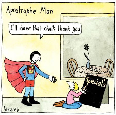 Apostrophe Man to the Rescue!