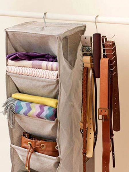 Organize Accessories with These 28 Clever Ideas | Decorating Files | #organizingaccessories #organizingbelts