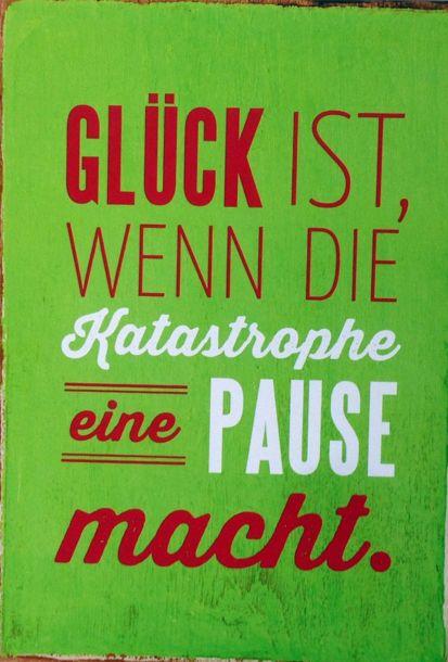 Spruche Gluck Postkarten