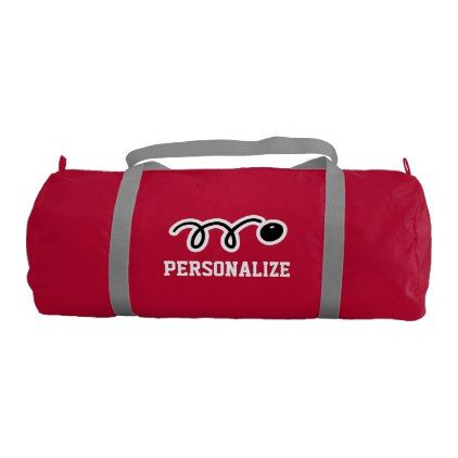 Personalized squash bag for player and coach - birthday gifts party celebration custom gift ideas diy