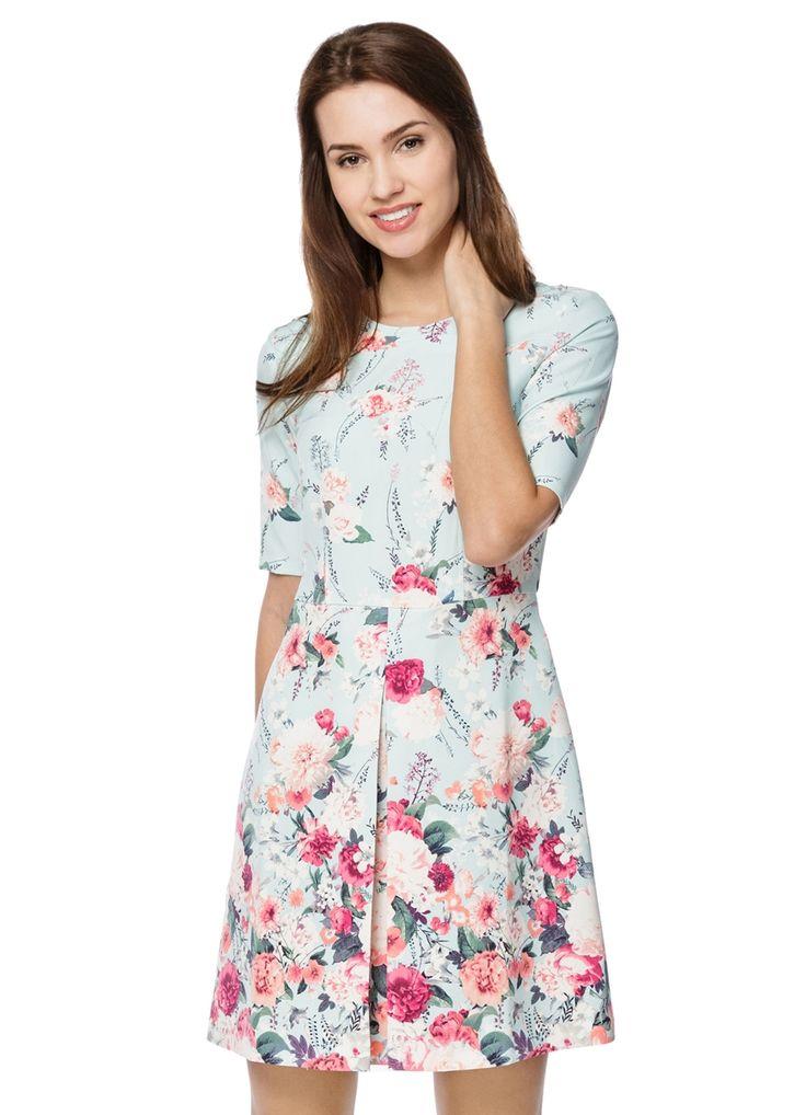 Купить ПЛАТЬЕ С ПРИНТОМ (LR1O82) в интернет-магазине одежды O'STIN