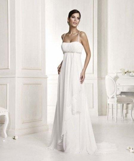 Abito da sposa stile impero greco