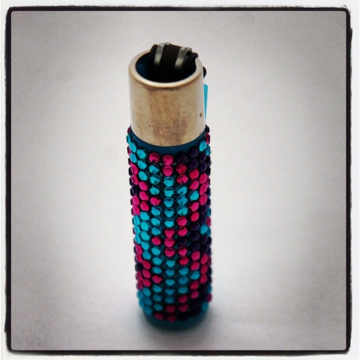 Swarovski Crystallized Clipper Lighter £15.00 http://www.diamontedecor.com/product-p/lighterzz.htm Refillable Clipper Lighter hand decorated with Swarovski Crystals. Three bright fun colours in a zig zag pattern sparkle and look stunning. Be the envy of your friends when you pull out this sparkly gorgeous lighter. Note: The actual colour of the Clipper lighter may vary to those in the pictures but will always match the crystal colours.